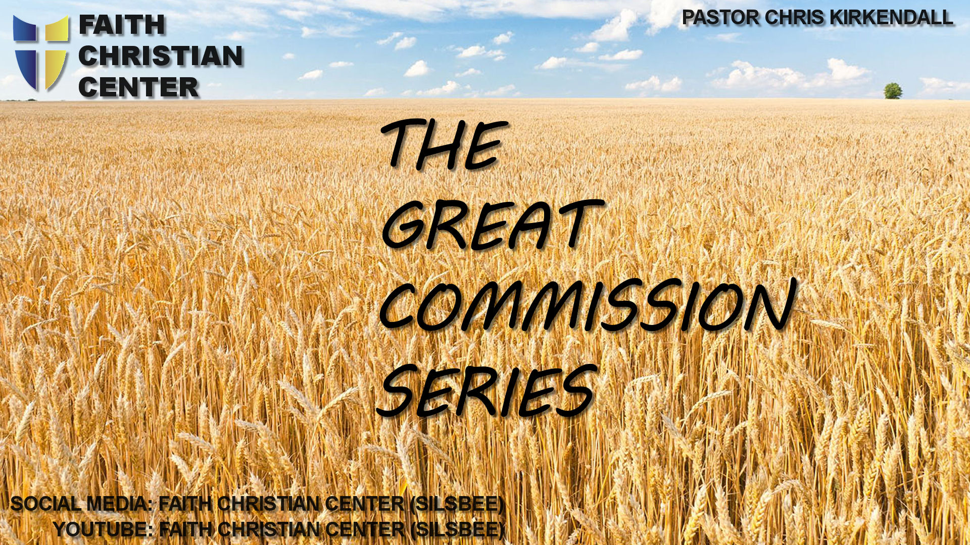 The Great Commission - Part 5